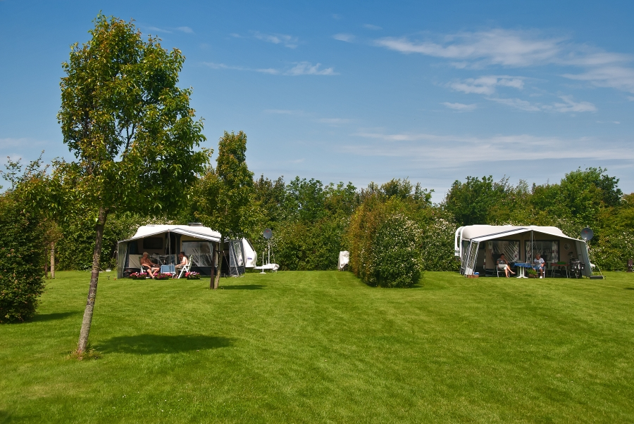 Seasonal pitches camping Renesse