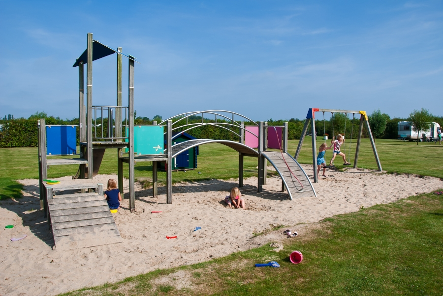 Children's Playground Campsite Renesse